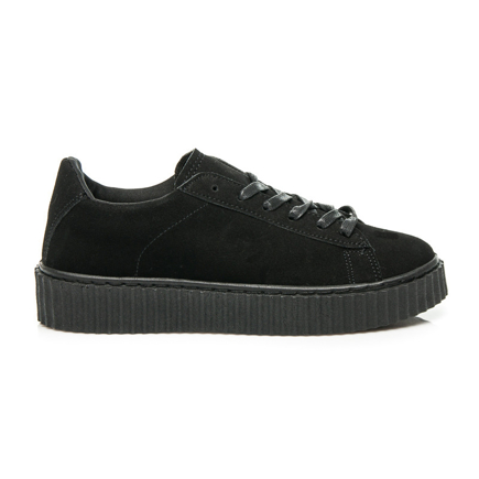 CREEPERS BLACK SUEDE
