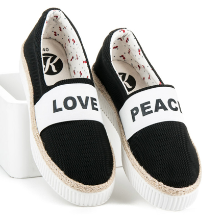 ESPADRILKY LOVE & PEACE