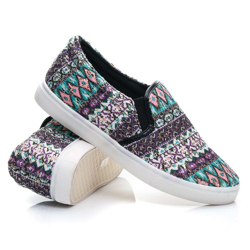 AZTEC SLIP ON SHOES