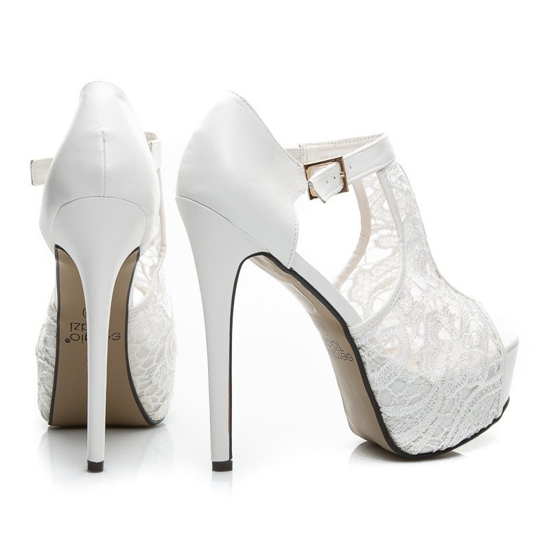 LACY PEEP TOE SHOES