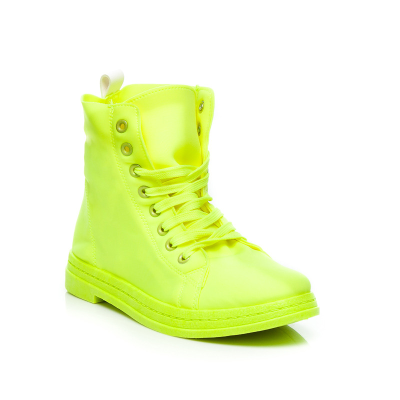 NEONOVÉ TRAMPKY HIGH TOP