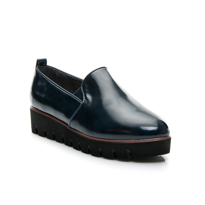 POLOBOTKY  NAVY SLIPON