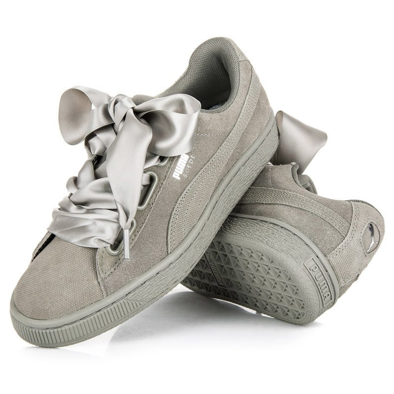 PUMA SUEDE HEART PEBBLE WN`S