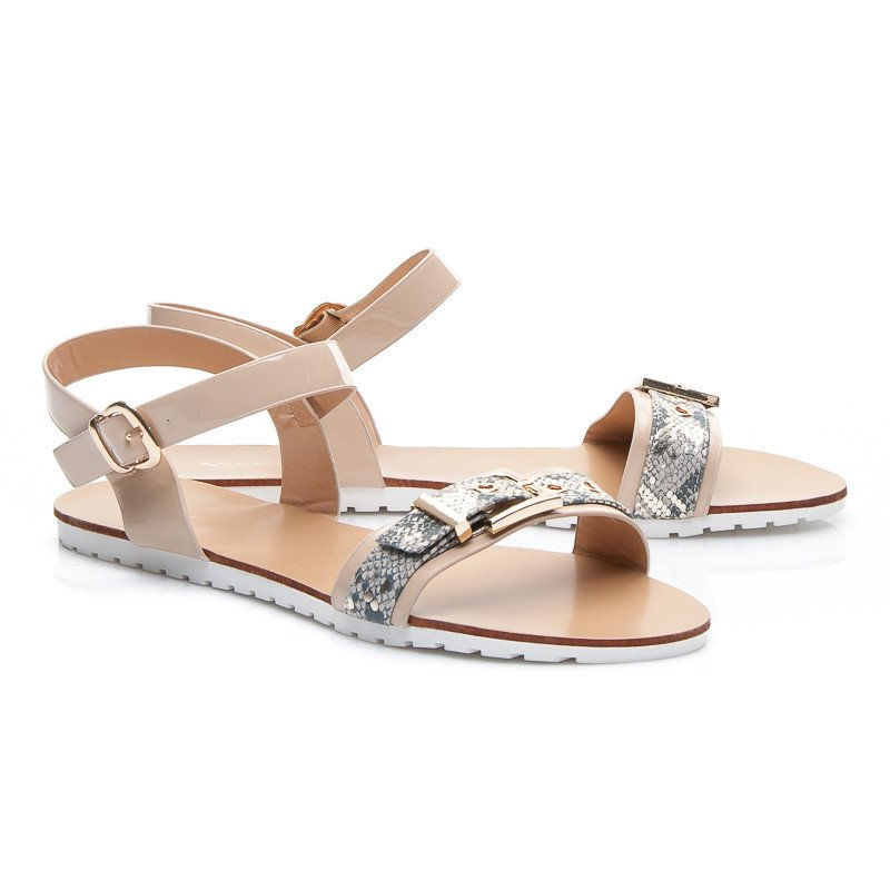 SANDÁLY  FAIRY BEIGE SANDALS