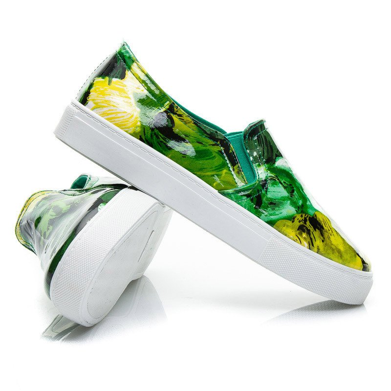 SLIP ON SHINE GREEN