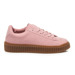CREEPERS PINK SUEDE